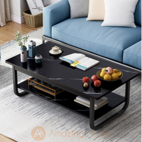 Ebony Two Layer Coffee Table