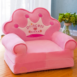 Princess 2 in 1 Kids Sofa Foldable Bed