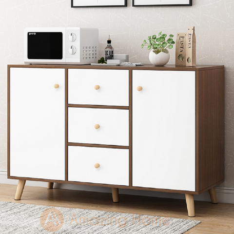 Anya 2 Door 3 Drawer Kitchen Dining Cabinet Sideboard Buffet