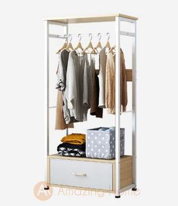 Taya Wardrobe Clothes Storage Rack Small