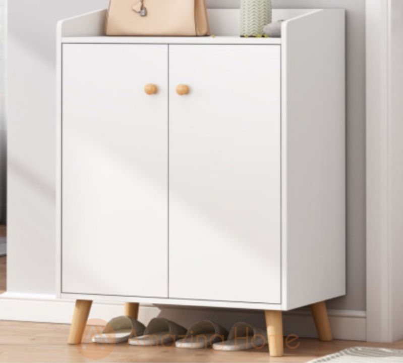 Lukas 2 Door Shoe Cabinet With Legs