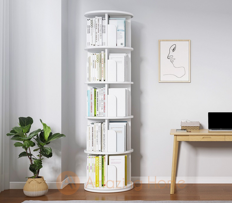 Ballet Creative 5 Layer Revolving Bookshelf 360° Rotating Bookcase