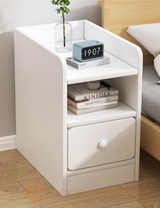 Blanca Small Side End Bedside Table 1 Drawer