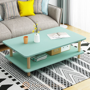 Tiffany Green Double Layer Coffee Table