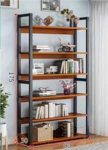 Stellan 6 Tier Bookshelf Medium