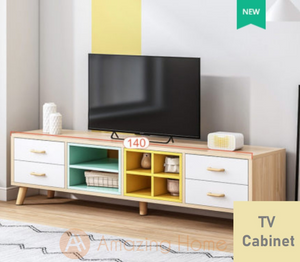 Summer Mix Colour TV Cabinet Console Table