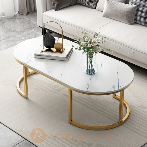 Walker Rectangle Round Edge Coffee Table