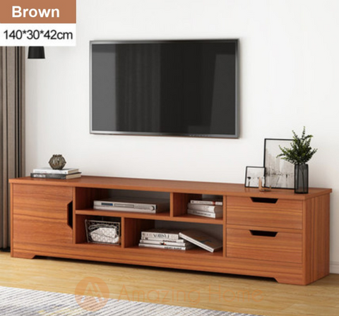 Autumn TV Cabinet Console Table Brown