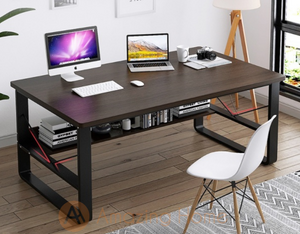 Aquino Study Table With Book Shelf Medium