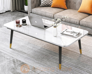Walker Marble White Coffee Table