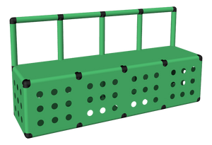 Clam Pool Platform with Rail (Closed)