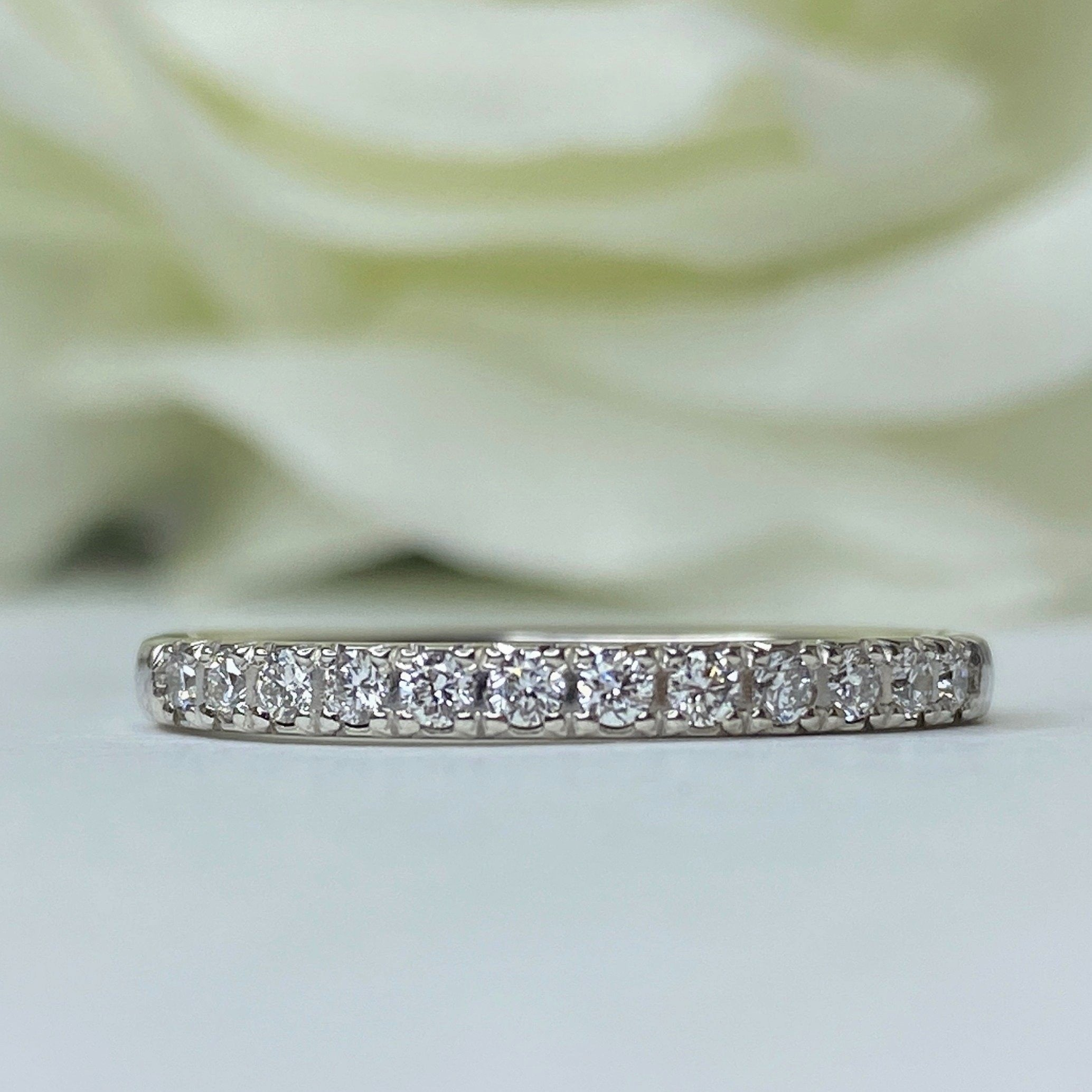 1/4 CT Lab Grown Diamond Band - WG