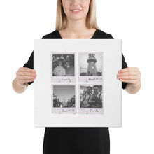 Load image into Gallery viewer, Personalised Multi-Polaroid Canvas (White)