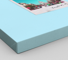 Load image into Gallery viewer, Personalised Single-Polaroid Canvas (Blue)