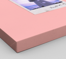 Load image into Gallery viewer, Personalised Multi-Polaroid Canvas (Pink)