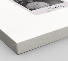 Load image into Gallery viewer, Personalised Single-Polaroid Canvas (White)