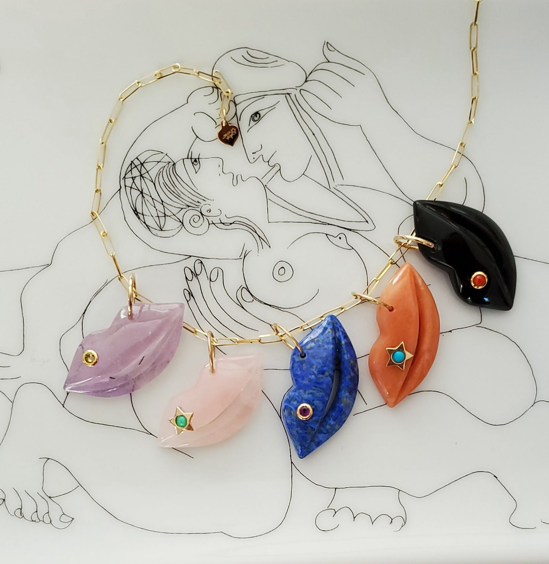 ☆BESO  W/ GEMSTONE☆