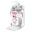 Duronic Hand Sanitiser Gel Wall-Mounted Dispenser STW-S1L | Wall Bracket Design with Drip Tray | Holds Duronic S1000ML 1 Litre Pump Bottle | Secure Locking Feature to Prevent Theft | Easy Assembly
