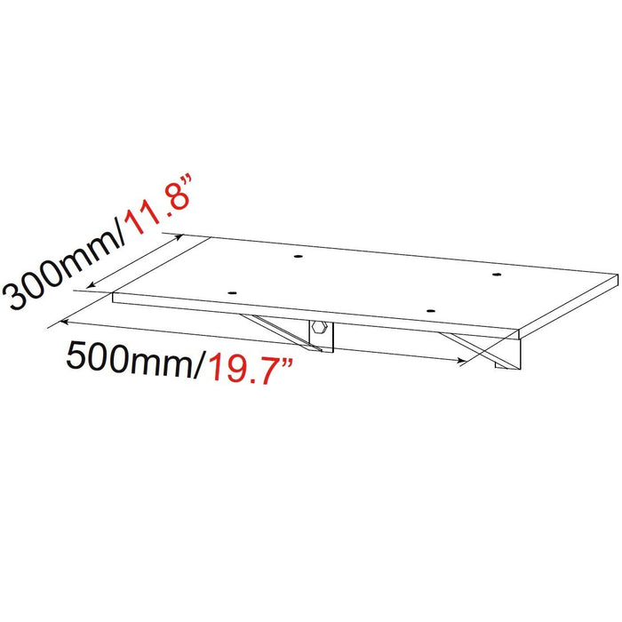 Duronic ** Extra Shelf for model: TVS4T1SH - Suitable for TVS4T1