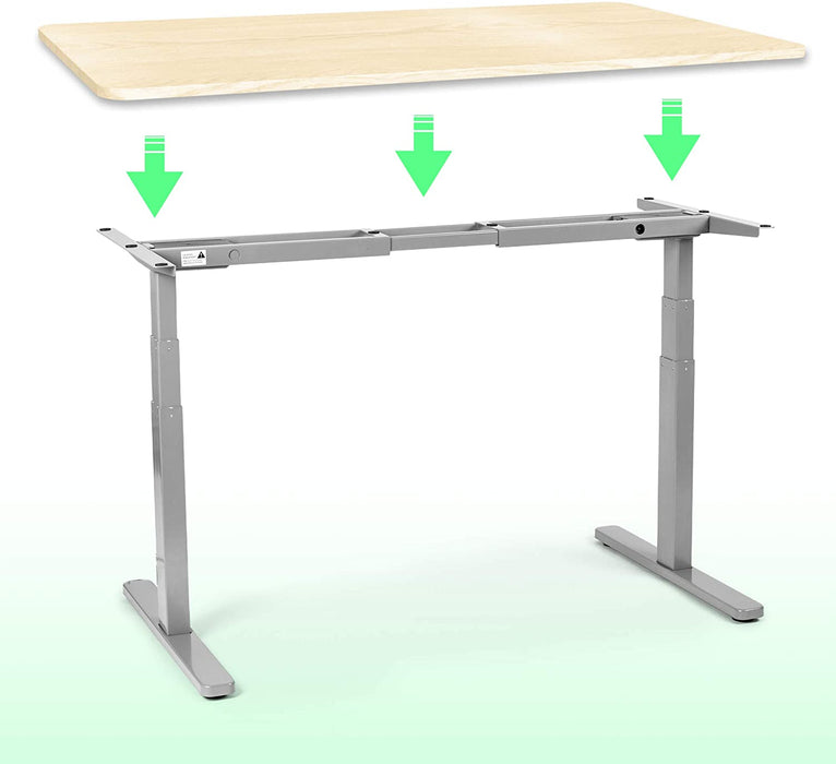 Duronic Sit Stand Desk Top TT157NL | Standing Desk Table Surface Only | Desktop for Duronic Height Adjustable Desk Frames | Ergonomic Office Furniture | NATURAL | 150cm x 70cm