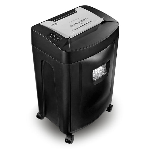Duronic PS991 Paper Shredder 18 Sheet A4 Heavy Duty Cross Cut Home | Office - High Performance Credit Card CD - Large 31 Litre waste collection bin