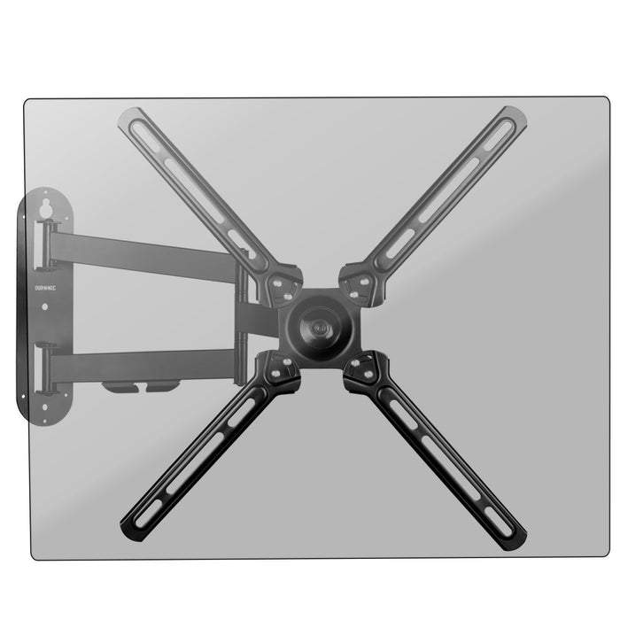 "Duronic TVB1130 TV Bracket Wall Mount Universal Tilt Swivel Cantilever 13"" - 30"" 32"" 37"" 40"" 42"" 46"" 50"" (VESA 75,100, 200, 400) LCD Monitor TV Arm Bracket Wall Mount"