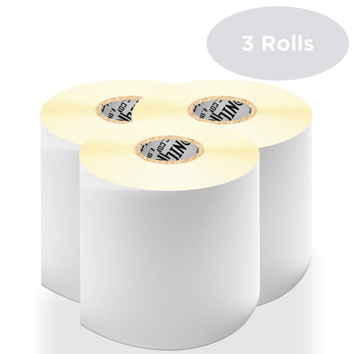 "Duronic Thermal Labels LL4X6 (3 ROLLS) SFP Seller Fulfilled Prime | 500x Label Roll | 102mmx152mm (6""x4"") 
