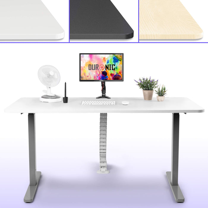 Duronic Sit Stand Desk Top TT187WE | Standing Desk Table Surface Only | Desktop Height Adjustable Desk Frames | Ergonomic Office Furniture | WHITE | 180cm x 70cm…