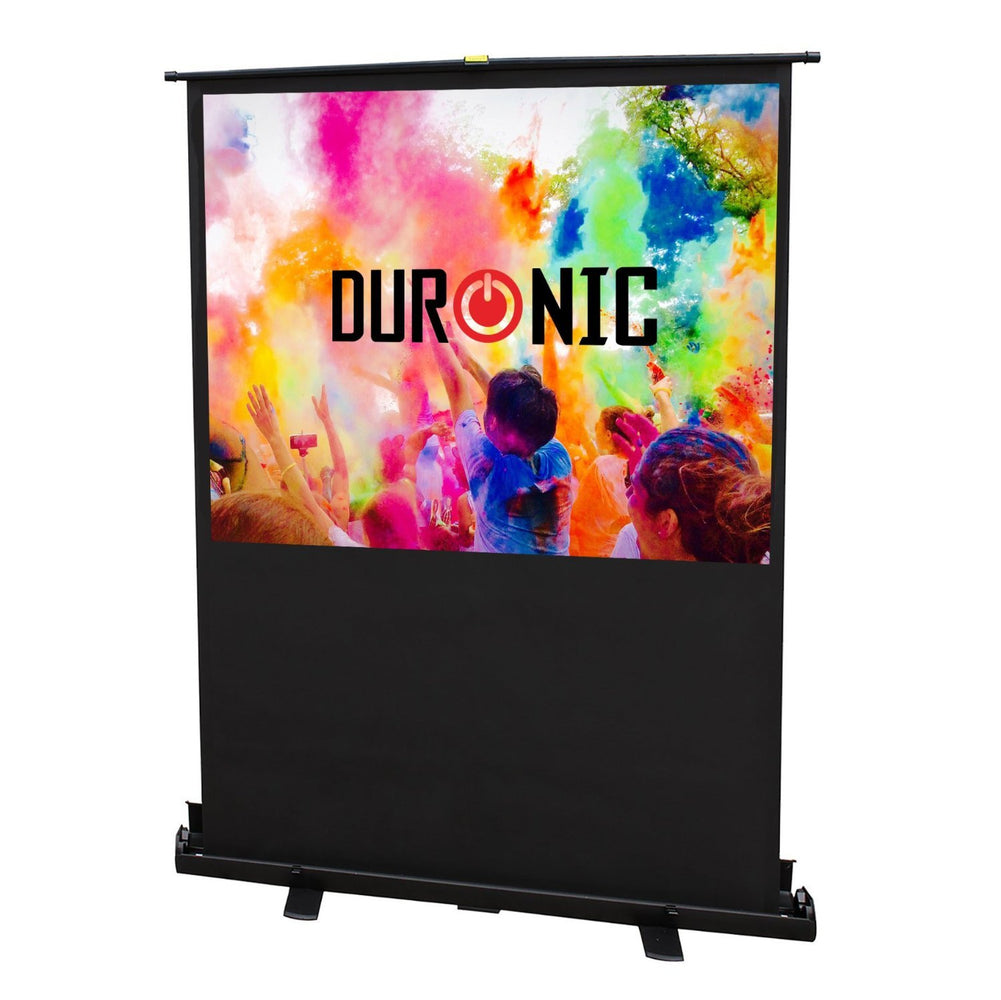 "Duronic Projector Screen FPS100/43 - 100"" Floor Projection Screen 