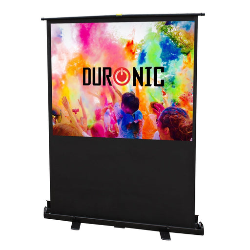 "Duronic Projector Screen FPS80/43 - 80"" Floor Projection Screen 