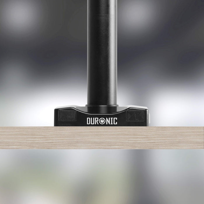 Duronic Grommet 3 | DM-GR-03 | Adaptor for Fixing Monitor Arm Bracket via a Hole in the Desk | Compatible with Duronic Desk Mounts DMG51X2 and DMG52 Models ONLY | Black Steel…