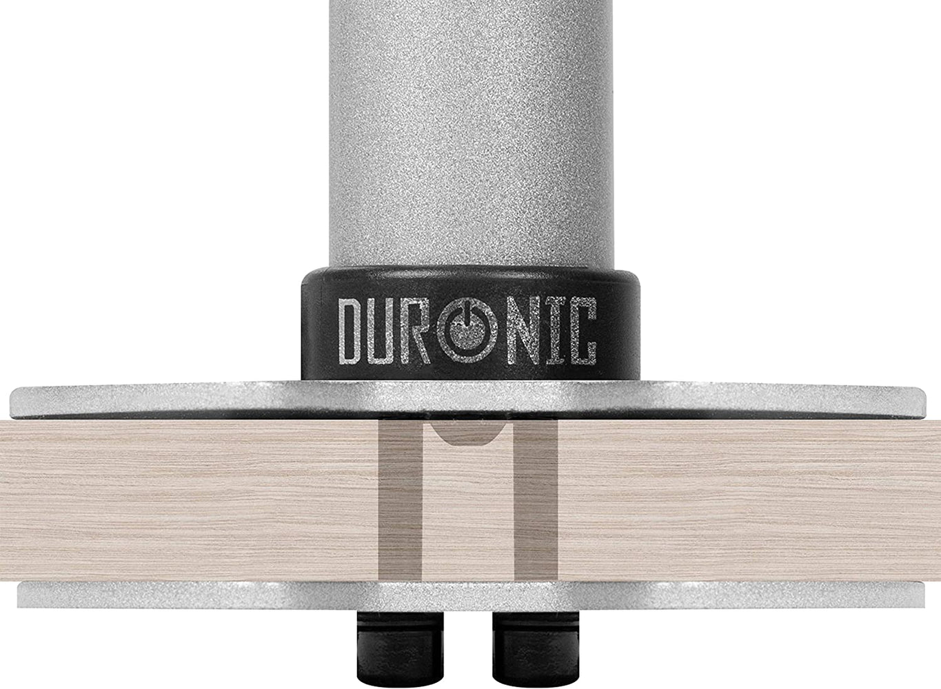 Duronic Grommet 1 [SILVER] DM-GR-01 SR | Adaptor for Fixing Monitor Arm Bracket via a Hole in the Desk | Compatible with Duronic Desk Mounts DM15, DM25, DM35 Ranges and DM451 ONLY