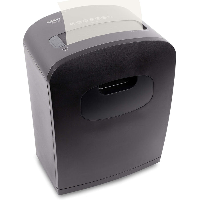 Duronic Paper Shredder PS410 | 6-8 A4 Sheets at a Time | Micro Cut | Electric Shredder | GDPR Compliant: Protects Against Data Theft | 14 Litre Bin | Thermal Overload Protection | for Home or Office…