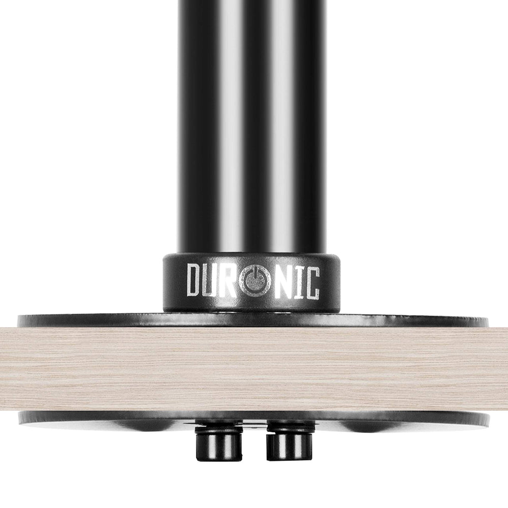 Duronic Grommet 1 [BLACK] DM-GR-01 | Adaptor for Fixing Monitor Arm Bracket via a Hole in the Desk | Compatible with Duronic Desk Mounts DM15, DM25, DM35 Ranges and DM451 ONLY | Black Steel