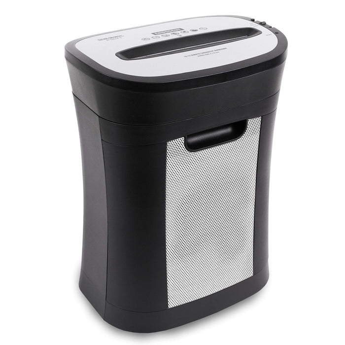 Duronic Paper Shredder PS571 | 10-12x A4 Sheets at a Time | Destroys 1 Credit Card | Cross Cut | Electric | 19L Bin | GDPR: Protects Against Data Theft | Thermal Overload Protection | Home/Office…