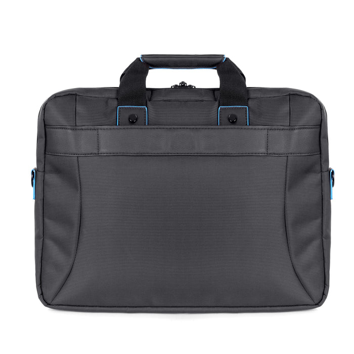 "Duronic LB16 Compact Laptop Side Shoulder Bag | Messenger Travel Bag | University | College |School |Business 13.3"" - 15.6"" Internal Laptop Sleeve 