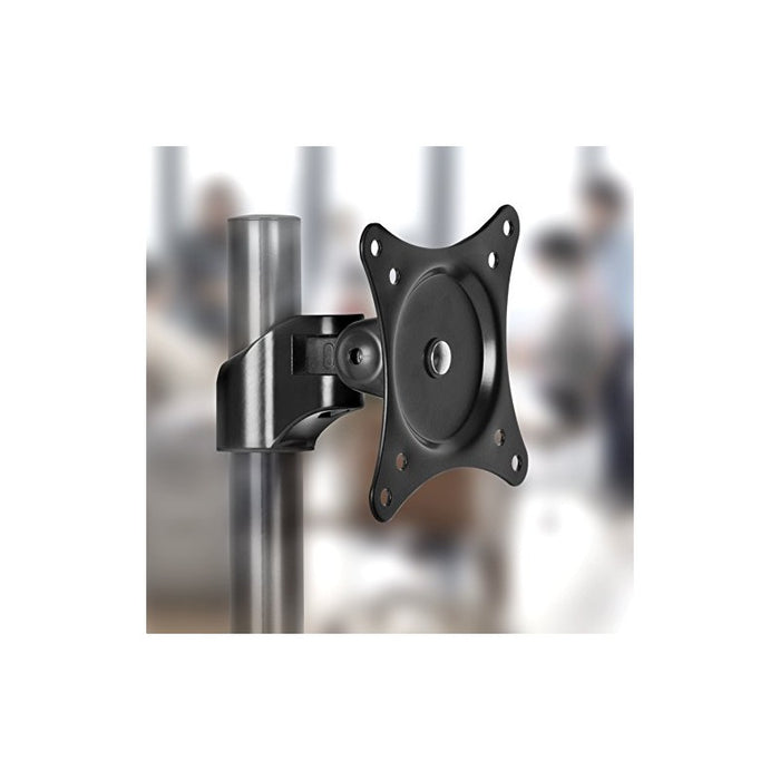 Duronic VESA Head DM45 DM55 DM65 DMG | Mounting Head to Use with Any Duronic Desk Mount Pole | Bracket for PC Computer Screen | Rotates 360°, Tilts +15°/-15° | Fits VESA 75/100