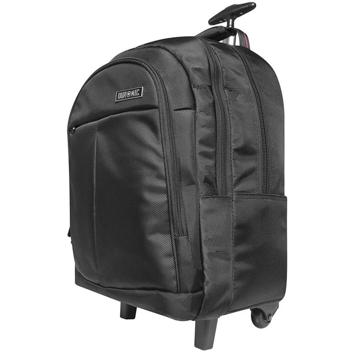"Duronic LT01 Trolley Laptop MacBook Backpack | Business Rucksack | Cabin Travel Bag | University | College |School | 13.3"" – 15.6"" Internal Laptop Sleeve 