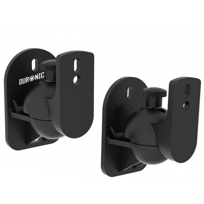 Duronic SPS1010 set of 2 universal wall speaker mount / brackets - 2 Year warranty