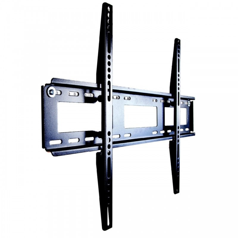 "Duronic TVB122L Extra Slim Fixed Black Wall Bracket/Mount For Plasma, LCD,3D & LED Screens For 40"" - 65"" Wide Screens 40"" 42"" 47"" 50"" 55"" 60"" 65"" (MAX VESA 600 X 400)"