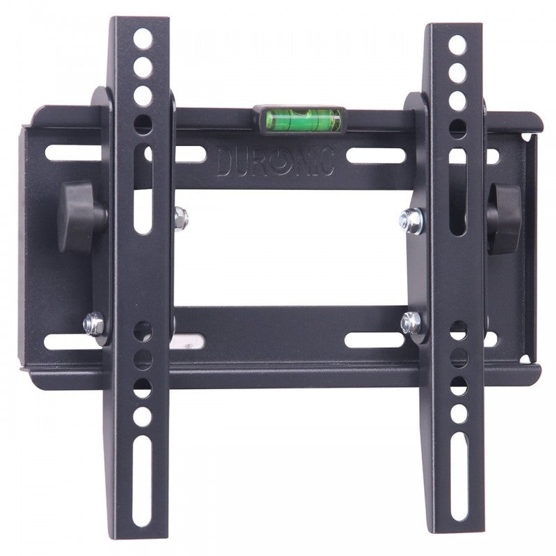 "Duronic TVB123S Heavy Duty Adjustable Black Wall Bracket For Plasma, LCD & LED Screens For 19"" - 37"" Wide Screens VESA: 200, 100 - With Tilt down"