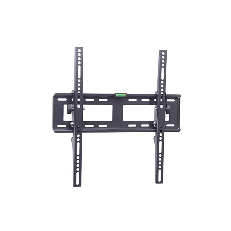"Duronic TVB123L EXTRA SLIM Adjustable Black Wall Bracket For Plasma, LCD & LED Screens For 40"" - 65"" Wide Screens With Tilt down"