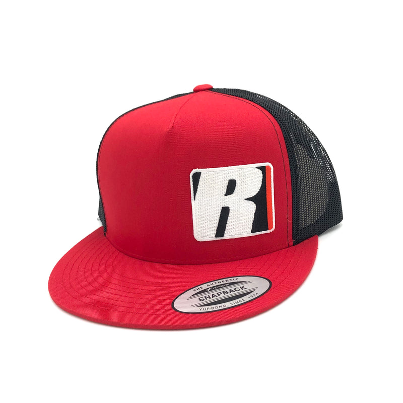 Redline R Snapback - Red/Black