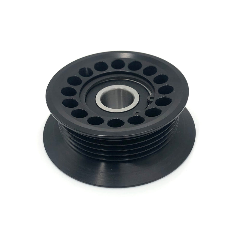 LS Billet Fenced Tensioner Pulley