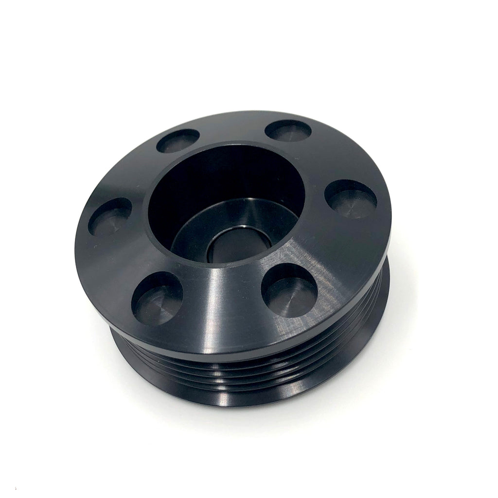 Billet Alternator Pulley Black