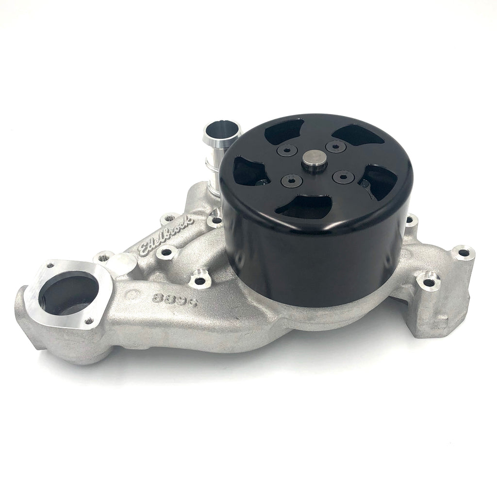 Edelbrock LS Aftermarket Water Pump + Pulley