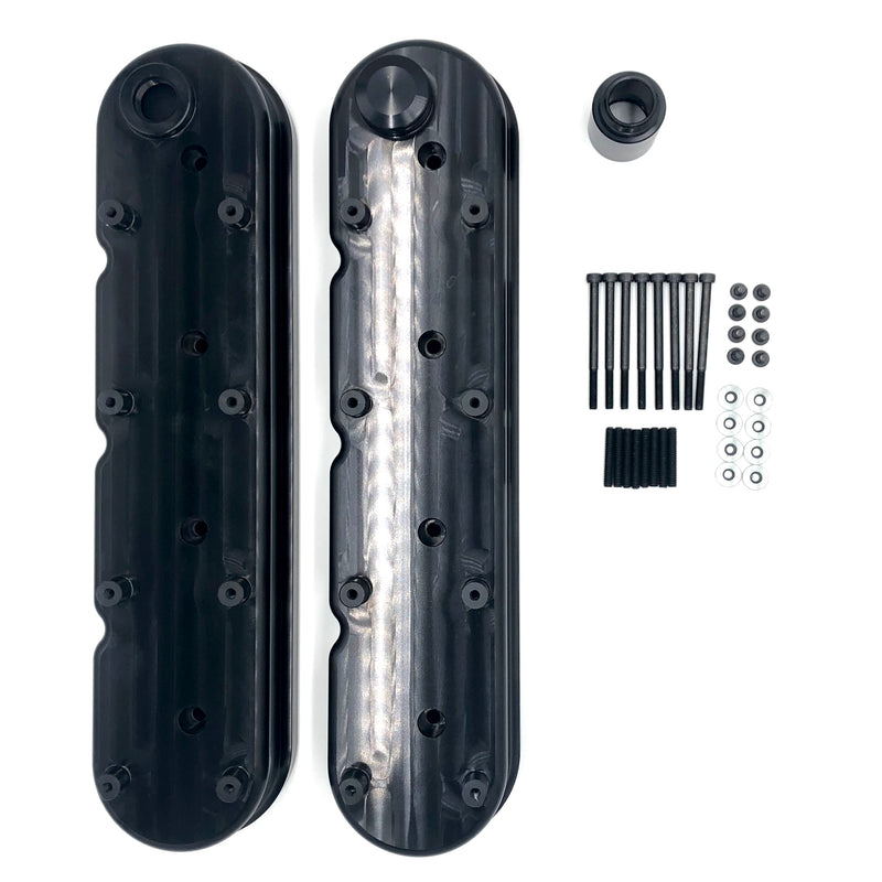 Redline Billet LS Valve Covers with Coil Mounts