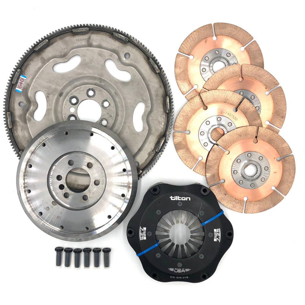 Tilton 4 Disc Complete Clutch Kit