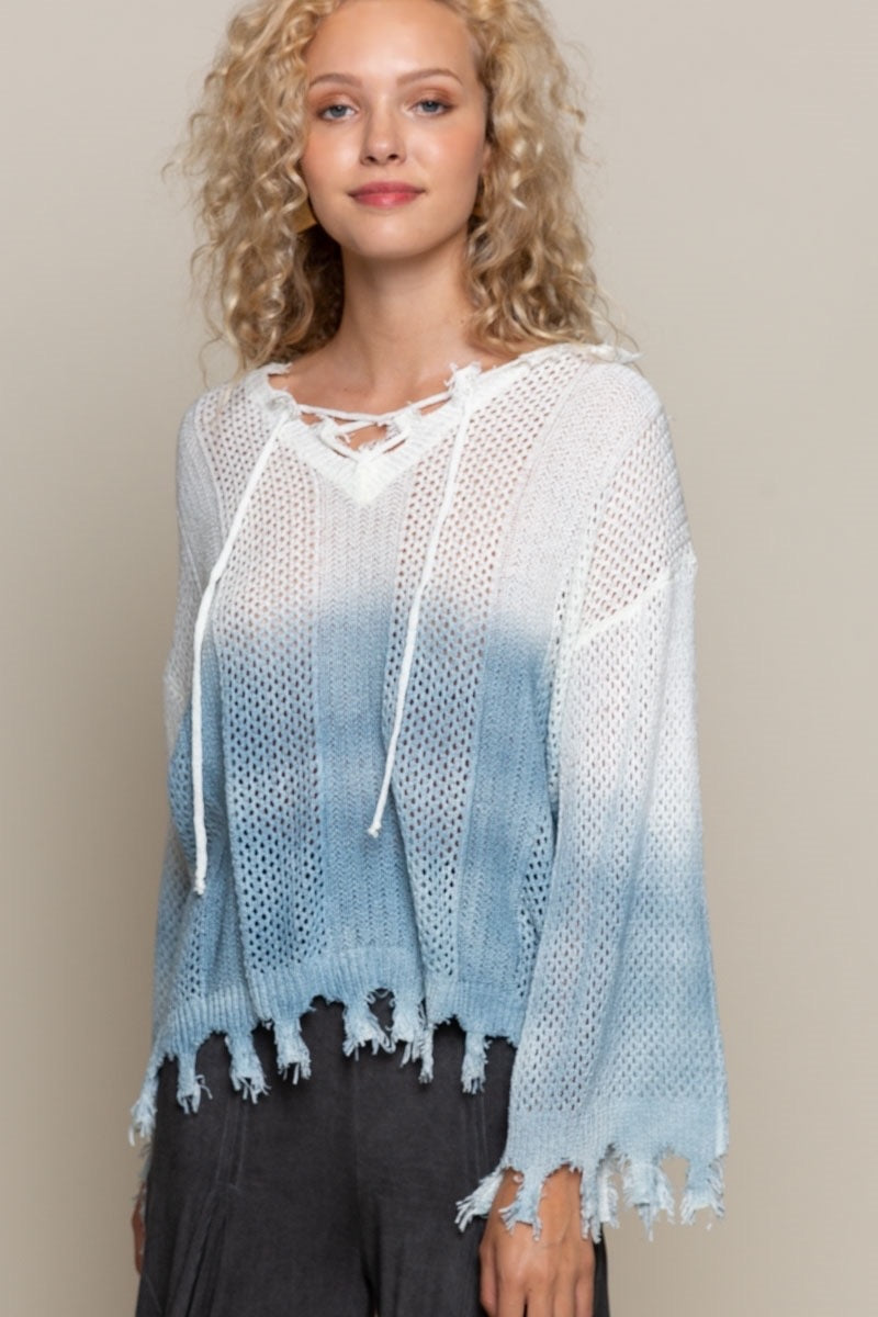 SWIPE WITHIN COLORS SWEATER