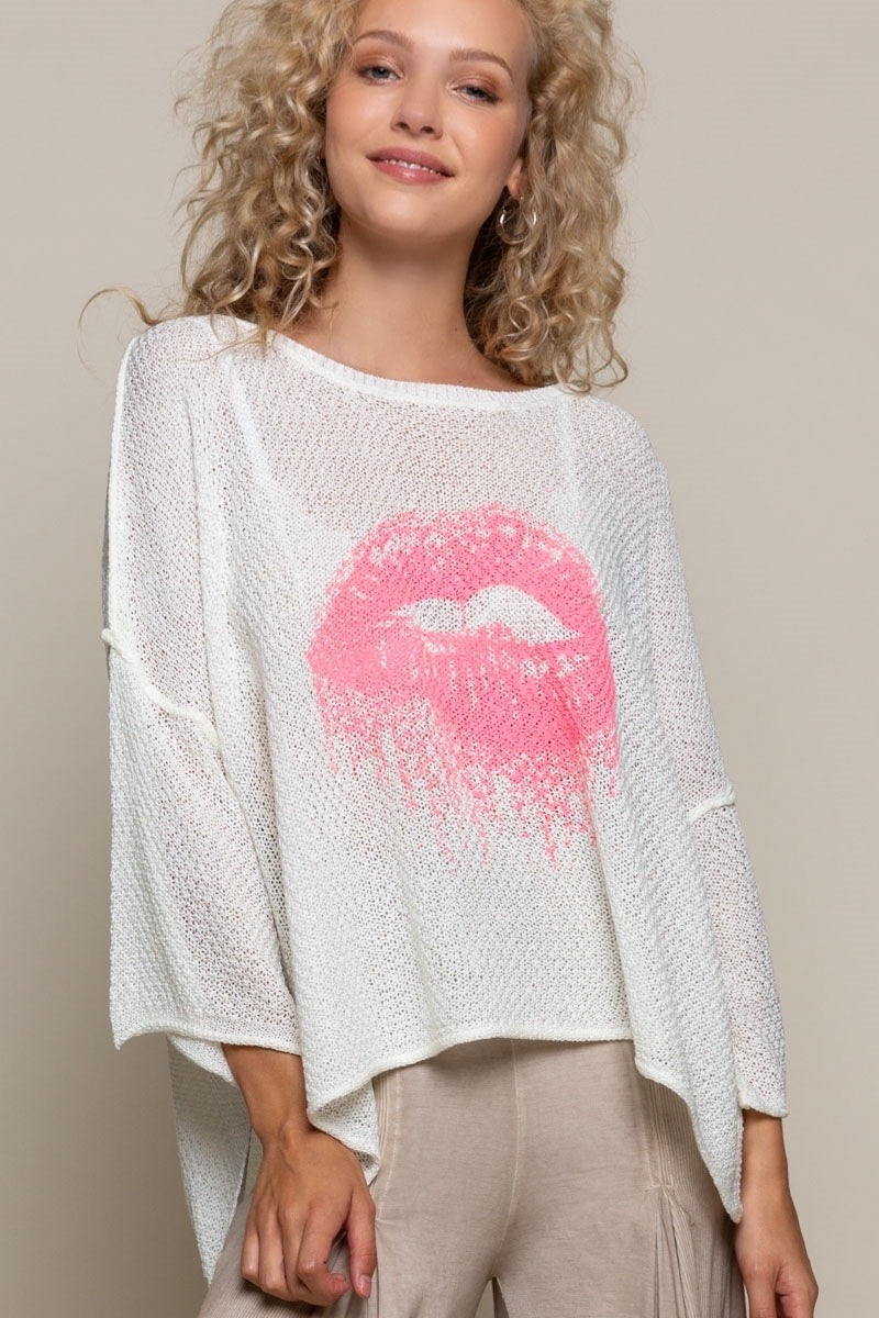 """LUSH KISS"" SWEATER"